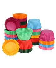 Paper Patty Pans Assorted Colours - Large 1000pk
