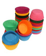 Paper Patty Pans Assorted Colours - Jumbo 500pk