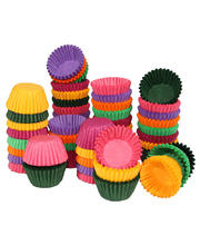 Paper Patty Pans Assorted Colours - Small 1000pk