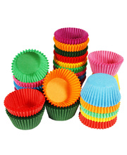 Paper Patty Pans Assorted Colours - Medium 1000pk