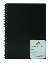 Visual Art Diary 110gsm - A4 120 page