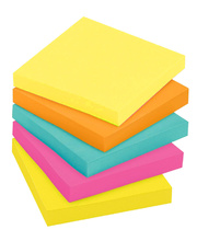 Rainbow Sticky Notes - Fluro Colours 5pk