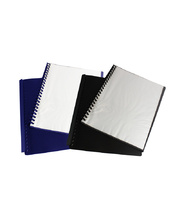 Display Book A4 Clearfront Refillable - Blue 20 Pocket