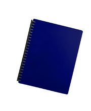Marbig Display Book Refillable A4 - 20 Pocket Blue