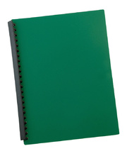 Marbig Display Book Refillable A4 - 20 Pocket Green