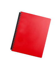 Marbig Display Book Refillable A4 - 20 Pocket Red