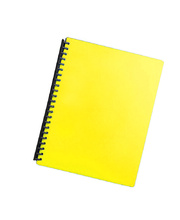 Marbig Display Book Refillable A4 - 20 Pocket Yellow