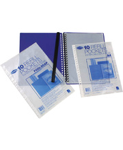 Marbig Refill Pockets for Display Books - A4 10pk