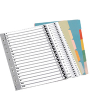 *SPECIAL: Dividers A4 Numerical Indices - 1-10 Grey
