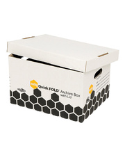 Marbig Archive Box & Lid - Quickfold