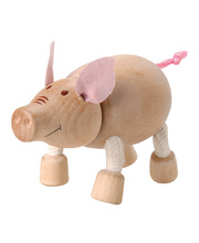AnaMalz Farm Animals - Pig 8 x 4 x 6cm
