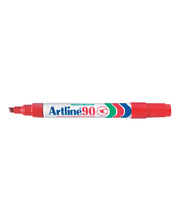 Artline 90 Chisel Permanent Marker - Red