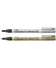 Artline 993 Calligraphy Metallic Marker - 2.5mm Gold