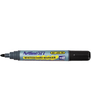 Artline 577 Bullet Whiteboard Marker - Black