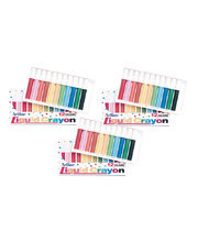 Artline Liquid Crayons Assorted Colours - 12pk x 3