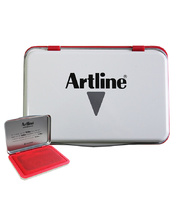 Artline Stamp Pad No 1 - 106 x 67mm Red