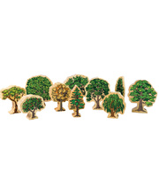 The Happy Architect Village - Australian Trees 10pcs