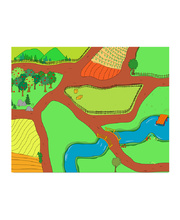 Happy Architect Farm - Play Mat Only
