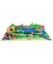 Happy Architect Dinosaurs - Set and Play Mat