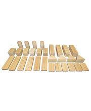 Magnetic Wooden Construction - Blocks 30pcs