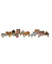 Children & Shelters Of The World Set - 33pcs