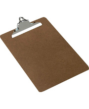 Marbig Clipboard Foolscap Masonite - Large Clip
