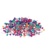 Pearl Pins Coloured - 1000pk
