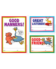 Early Years Manners Certificate - 35pk