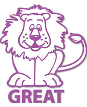 Merit Stamp - Great Lion