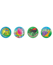 Merit Stickers 29mm 96pk - Garden Insects