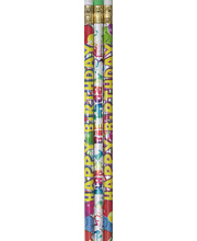 Colour Glitz Pencils 10pk - Birthday Celebration