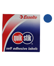 Circle Stickers 24mm 500pk - Blue