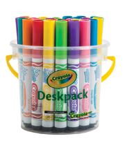 Crayola Ultra Clean Washable Broadline Markers - Bright Colours 32pk