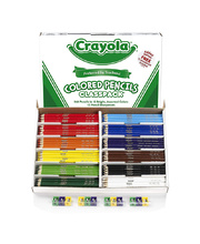 Crayola Full Size Coloured Pencils - 240pk