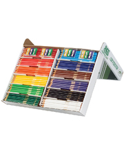 Crayola Triangular Coloured Pencils - 240pk