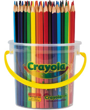 Crayola Triangular Coloured Pencils - 48pk