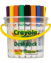 Crayola My First Washable Round Nib Markers - 32pk