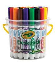 Crayola Ultra Clean Washable Broadline Markers - Classic Colours 32pk