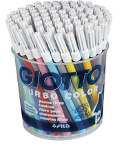 Giotto Children's Thin Markers (Turbo Colour) - 96pk