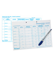Bellbird Medication Record Sheets - 100pk