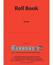 Bellbird Roll Book For 1 Group - Red