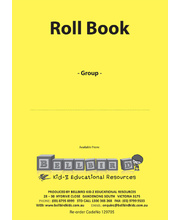 Bellbird Roll Book For 1 Group - Yellow