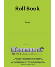 Bellbird Roll Book For 1 Group - Green