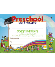 Bellbird Certificate - Preschool Completion