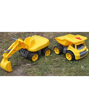 Big-Maxi Construction Vehicles - Set of 2