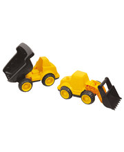 Dump Truck & Front End Loader - Set of 2