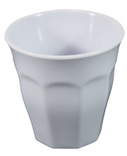 *Melamine Crockery White - Cup/Tumbler 260ml
