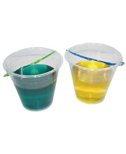 Plasto Transparent Bucket - Large 17.5cmH