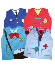 Role Play Vest - Set of 4