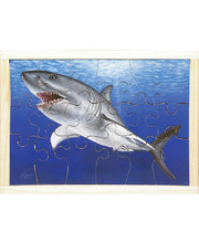 *SPECIAL: Great White Shark Puzzle - 38 x 28cm 18pcs